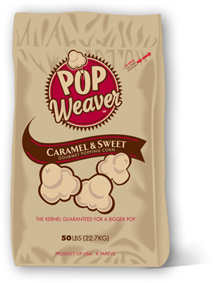 Carmel and Sweet Popcorn